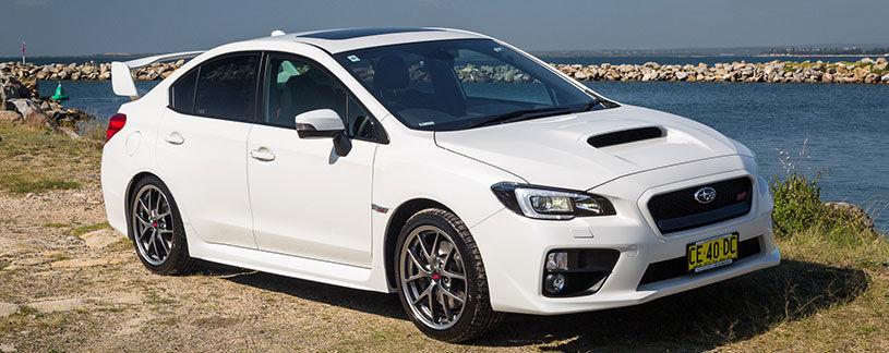 2016 Subaru Wrx Sti White