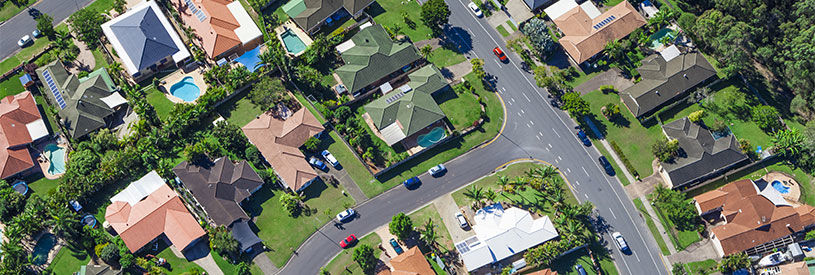 australian homes from above